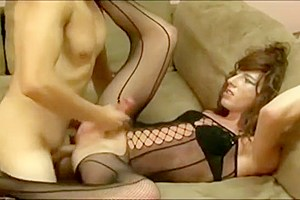 Tranny fucks with neighbour