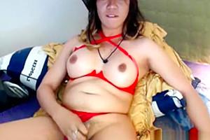 Cute Ladyboy Cums Webcam Show
