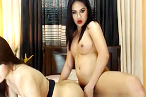 Horny Shemale Babes Having Some Hot Sex