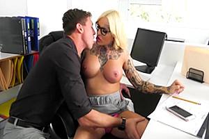 Foreplay with TS secretary