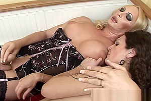 these Two attractive ladyboys Love pounding