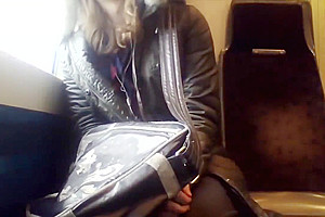 Young femboy solo jerk
