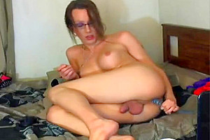 KatAttack1983 Katrina Adara instagram tranny fat cock