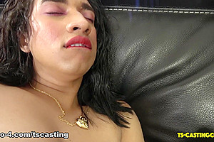 Catalina's Big Cumshot - TS-Casting-Couch