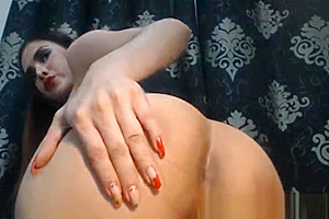 This lustful Seductive shemale playgirl jack off
