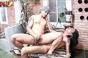 Leticia Freitas & Marcus - BrazilTGirlsXXX