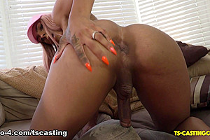 Joss Amor Tries The Couch - TS-Casting-Couch
