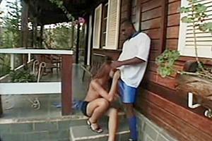 Latina Tgirl Assfucked By Ebony Dick