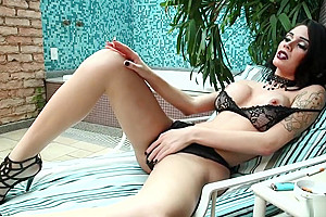 Watch compilation of tranny babes with fetish