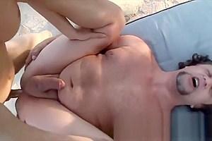 Delightfully huge cock of transsexual
