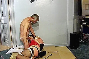 Tit Torture for Transvestite Milf