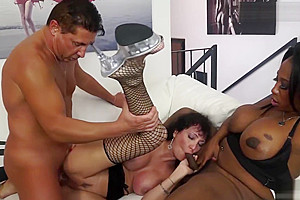 Trans Bella - lovely husband Shares His Wife With A big dick ebon shelady