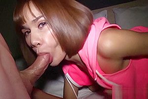 Horny shemale fucks so hard in asshole after blowjob