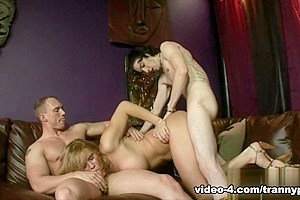 Astrid Shay in Transsexual Babysitters #11