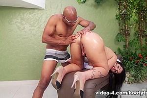 Kessia Brunelly in New Year Booty - BigBootyTGirls