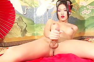 Compilation shesmale japan cums