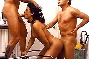 Studly Evan Denzil With Tranny Fucking Fernanda Barros And Lu