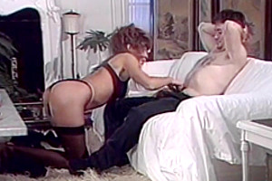 Oiled-Trannies In Submissive Orgy