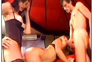 Fetish Slamming In TS Threesome