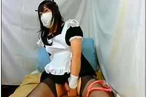 Japanese CD masturbation